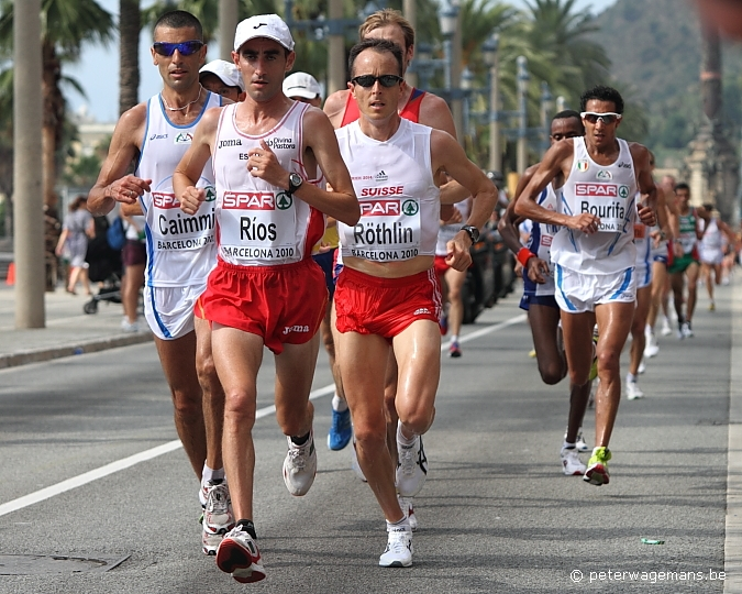 Marathon EK Barcelona, Passeig de Colom