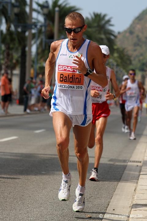 Marathon EK Barcelona, Stefano Baldini