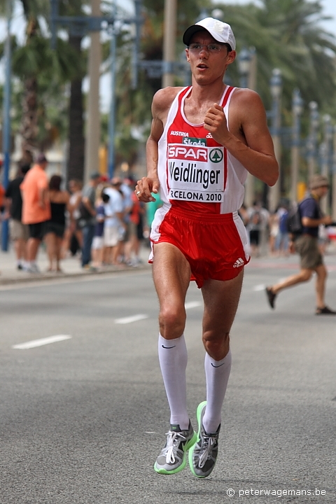 Marathon EK Barcelona, Günther Weidlinger
